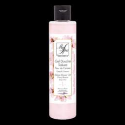 achat produit my spa gel douche sakura fleur de cerisier le temps d'un soin envoi dans toute la france